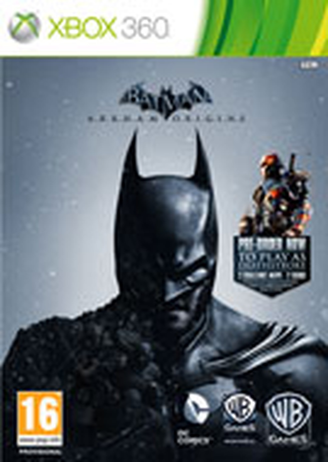 Box Batman: Arkham Origins