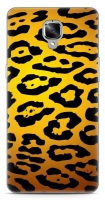 Just in Case OnePlus 3 / OnePlus 3T Hoesje Luipaard Goud Zwart