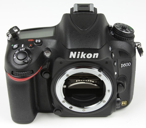 Nikon D600 Inleiding