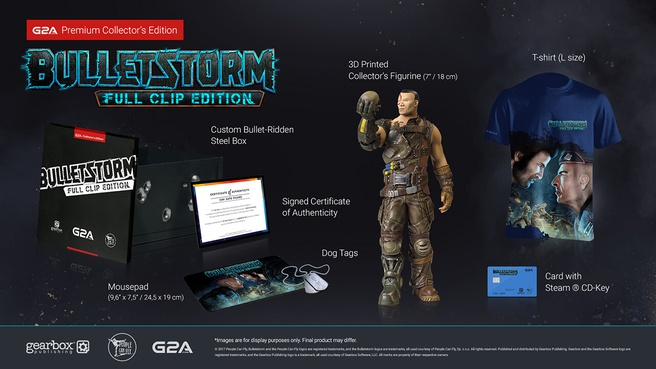 Collector's Edition Bulletstorm-remaster