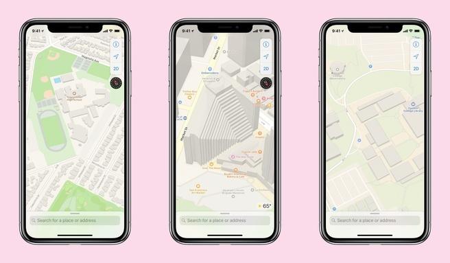 apple maps-update
