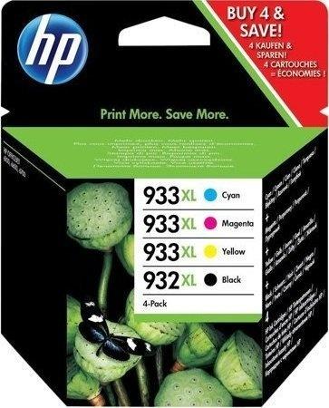 HP INKTCARTRIDGE C2P42AE 932XL/933XL MULTIPAK ZWART/KLEUR (C2P42AE)