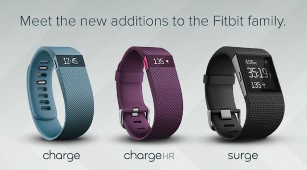 Fitbit fitnesshorloges