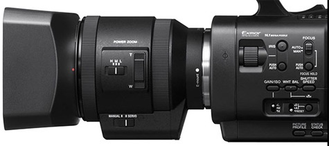 Sony 18-200mm NEX-zoomlens met power zoom