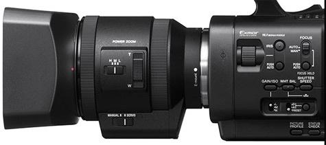 Sony 18-200mm NEX-zoomlens met power zoom