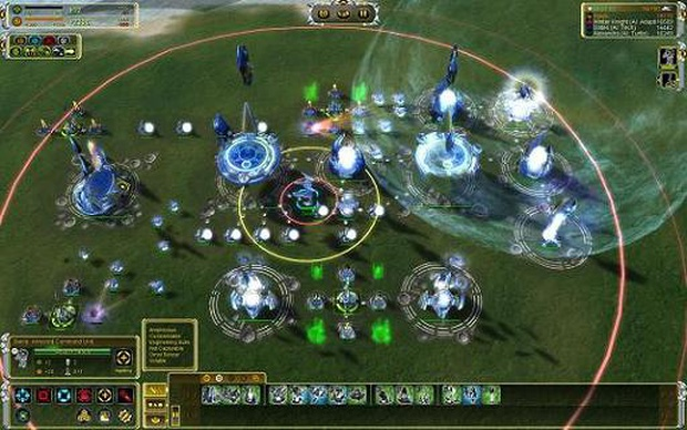 Supreme Commander Templates. rts supreme commander forged alliance ...