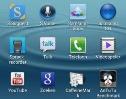 Google-apps op Galaxy S3