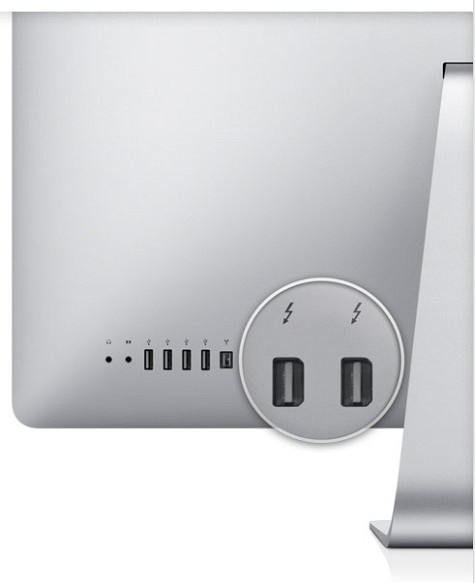 Apple iMac 2011 Thunderbolt x2