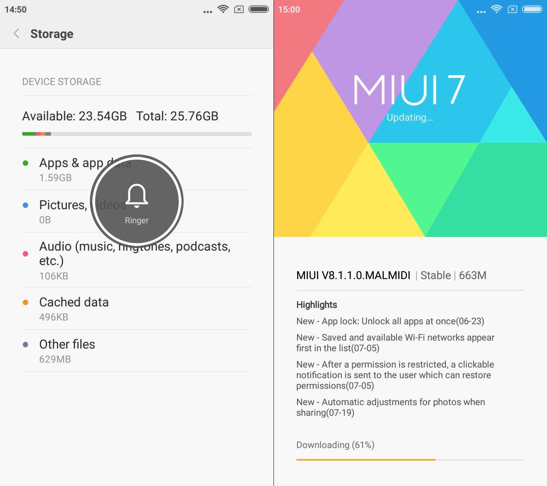 MUI8 & Storage