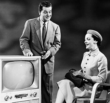 Ouderwetsche televisie