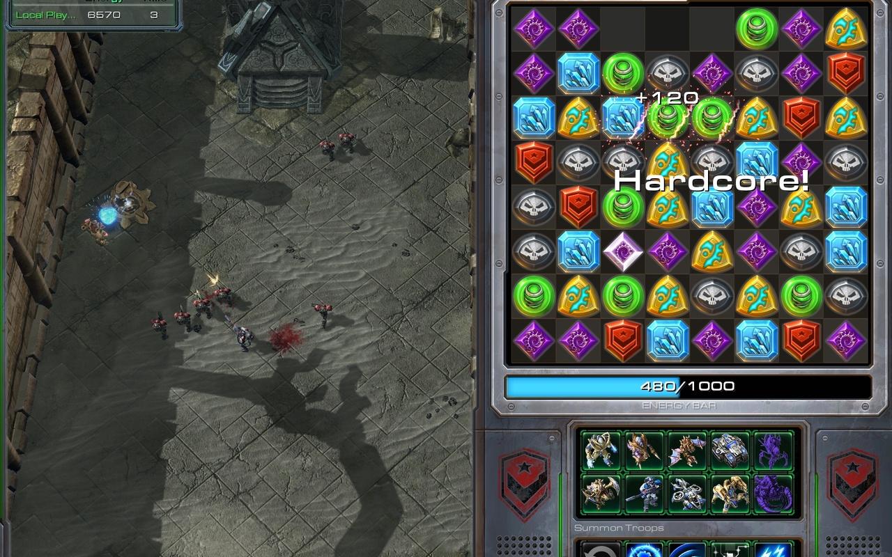 StarCraft II Mods - StarJeweled
