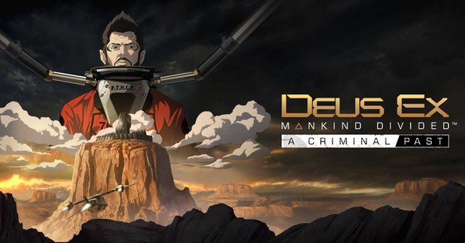 Banner Deus Ex Mankind Divided A Criminal Past dlc