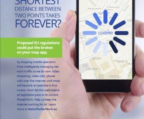 Make The Net Work, reclame van providers