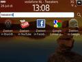 Screenshot BlackBerry Curve 3G op BlackBerry 6