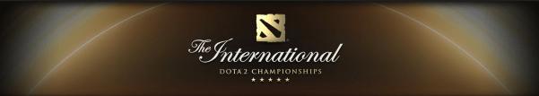 The international dota 2 toernooi banner