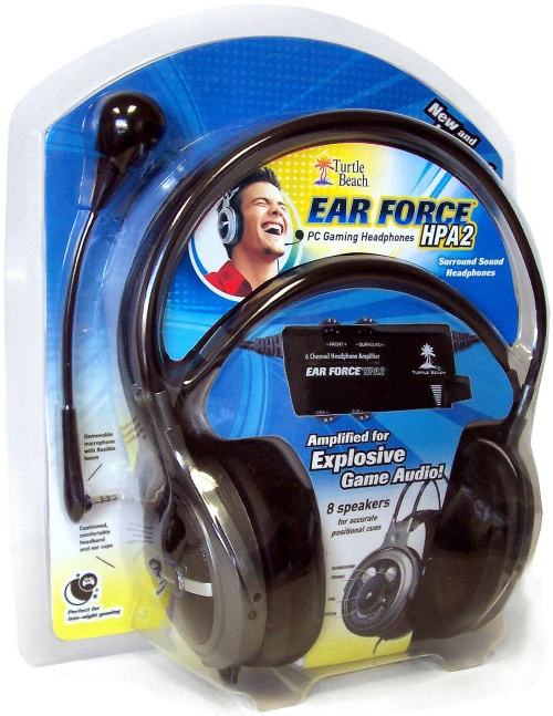Turtle Beach Ear Force HPA2 verpakking
