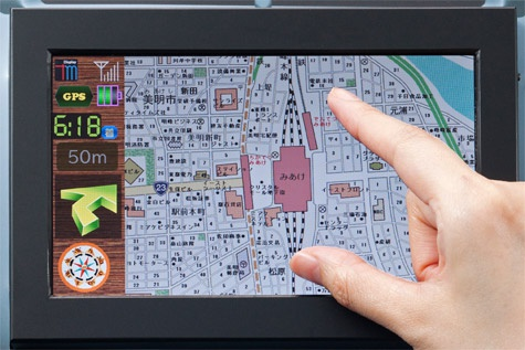 Toshiba incell touchscreen