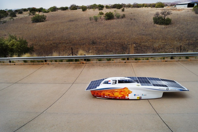 Nuon Solar Team Sasol Solar Challenge