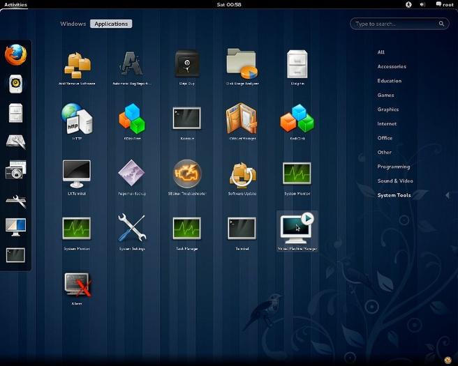 Fedora 15 met Gnome 3