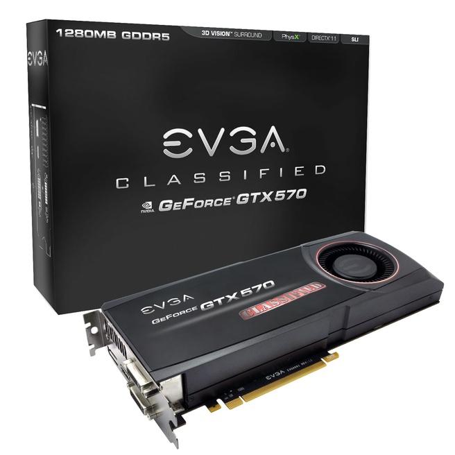 EVGA GTX 570 Classified
