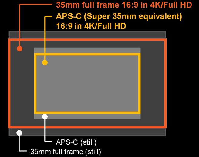 A7S video sensor
