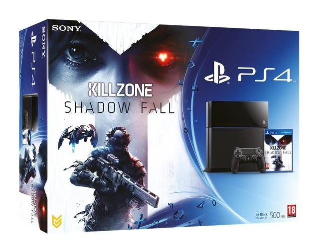 Sony PlayStation 4 + Killzone Shadow Fall Zwart
