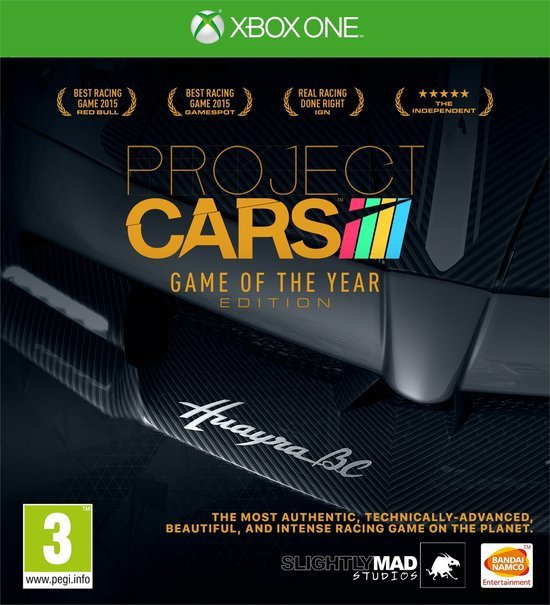 Project Cars: Game of the Year Edition, Xbox One