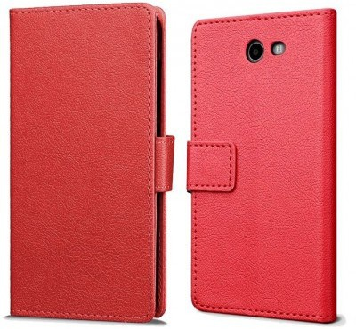 qMust Samsung Galaxy J7 (2017) Wallet Hoesje Rood