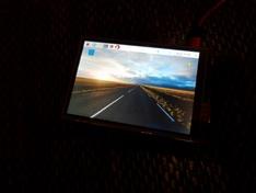Raspberry Pi scherm