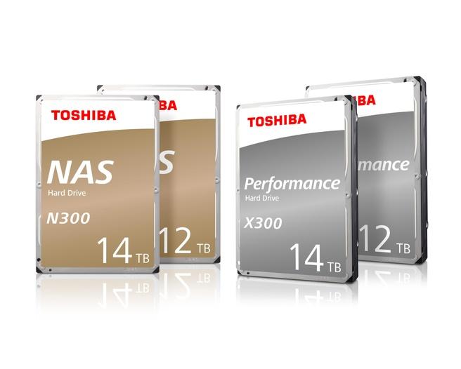 Toshiba X300 N300 12TB 14TB