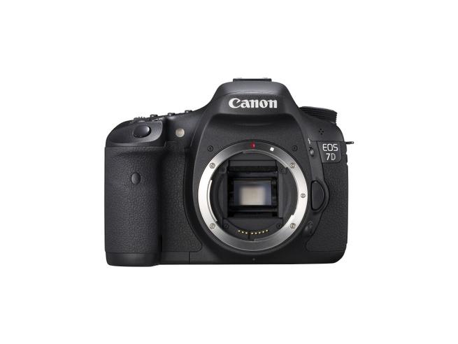 Canon EOS 7D body voorkant
