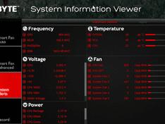 Gigabyte – System Information viewer – System Alerts