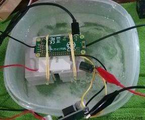 Raspberry Pi Zero overklok 1600MHz