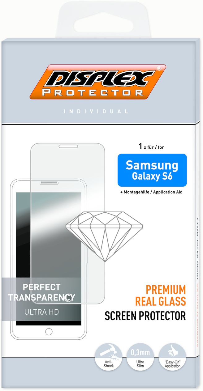 Displex Protector Real Glass Samsung Galaxy S6