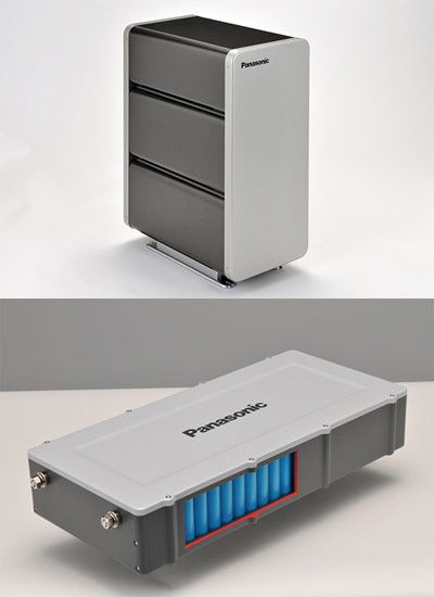Panasonic home storage cell