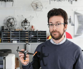 Opvouwbare mini-drone