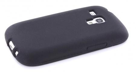 Mobiparts Mobiparts Siliconen Case Samsung i8190 Galaxy S3 Mini Black