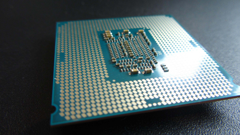 Onderkant CPU