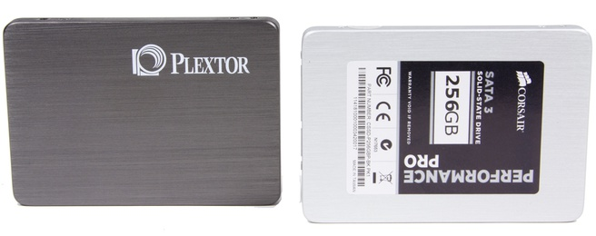 Plextor M3 / Corsair Performance Pro 256GB