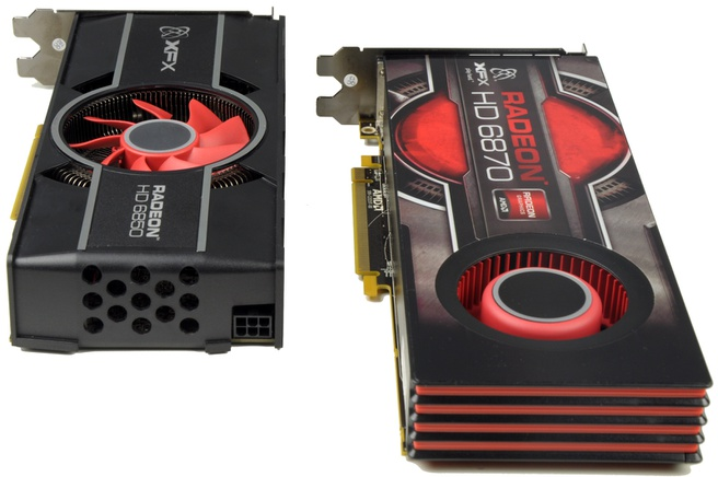 XFX HD 6870 en HD 6850