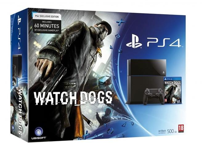Sony Computer Entertainment Europe Playstation 4 - Watch Dogs bundel Zwart