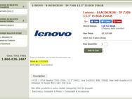 Lenovo-laptops met Whiskey Lake-U