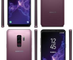 Afbeelding vermoedelijke Samsung Galaxy S9 en S9+ (@EvLeaks)
