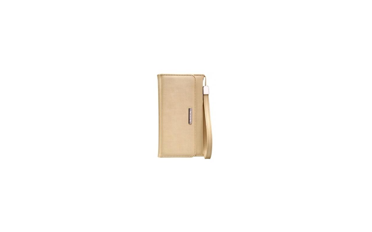 Nillkin Bazaar Leather Case Apple iPhone 6 Plus - leder hoesje - goud