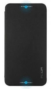 Rock HTC Desire 820 Leather Case UNI-Serie - hoesje met stand - zwart