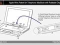Apple MacBook 3g touchscreen patent