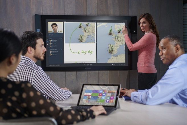 micrsoft surface hub