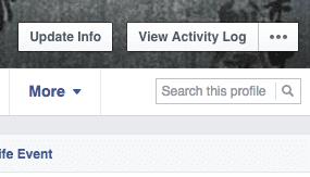 Facebook profiel doorzoeken