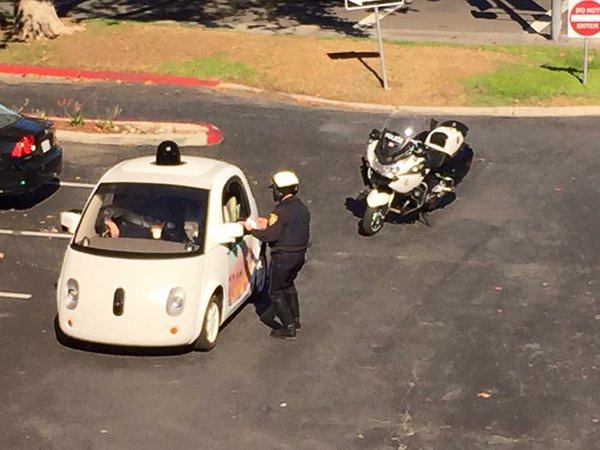 google autonomous vehicle