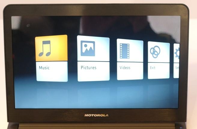 Webtop-modus Motorola Atrix
